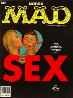 MAD Magazine #6 • Norway • 3rd Edition - Bladkompaniet