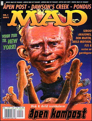 MAD Magazine #1 • Norway • 4th Edition - Egmont