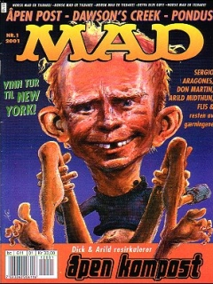 MAD Magazine #1 • Norway • 4th Edition - Egmont