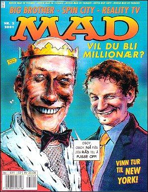 MAD Magazine #2 • Norway • 4th Edition - Egmont