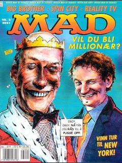MAD Magazine #2 • Norway • 4th Edition - Egmont