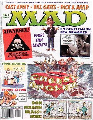 MAD Magazine #3 • Norway • 4th Edition - Egmont