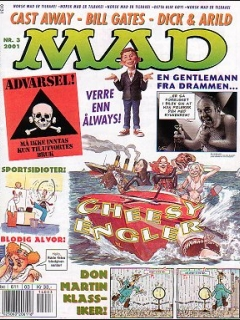 Go to MAD Magazine #3 2000 • Norway • 4th Edition - Egmont