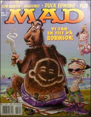 MAD Magazine #4 • Norway • 4th Edition - Egmont
