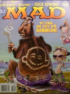 Go to MAD Magazine #4 2000 • Norway • 4th Edition - Egmont