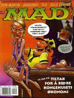 Go to MAD Magazine #5 • Norway • 4th Edition - Egmont