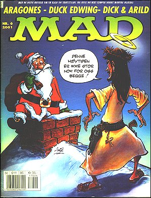 MAD Magazine #6 2000 • Norway • 4th Edition - Egmont