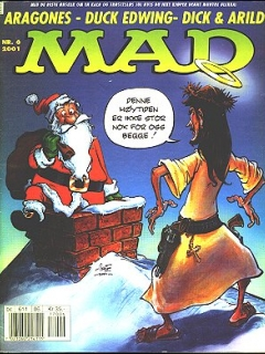Go to MAD Magazine #6 2000 • Norway • 4th Edition - Egmont
