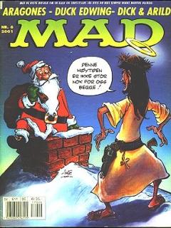 MAD Magazine #6 • Norway • 4th Edition - Egmont