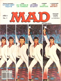 Go to MAD Magazine #1 • Puerto Rico • 1st Edition - Ano 1