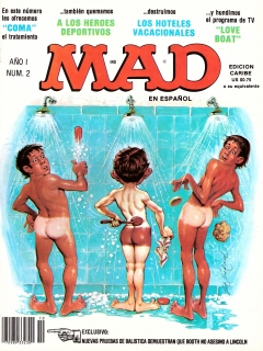 Go to MAD Magazine #2 • Puerto Rico • 1st Edition - Ano 1