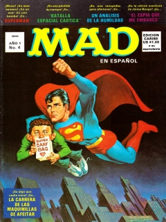Go to MAD Magazine #4 • Puerto Rico • 1st Edition - Ano 1