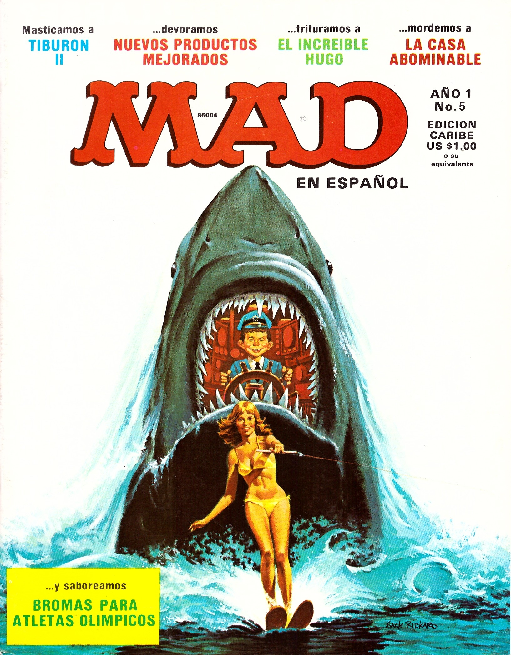 MAD Magazine • Puerto Rico • 1st Edition - Ano 1