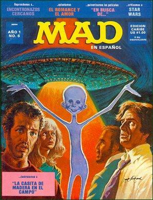 MAD Magazine #6 • Puerto Rico • 1st Edition - Ano 1