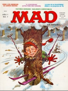 Go to MAD Magazine #7 • Puerto Rico • 1st Edition - Ano 1