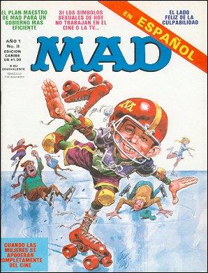MAD Magazine #11 • Puerto Rico • 1st Edition - Ano 1