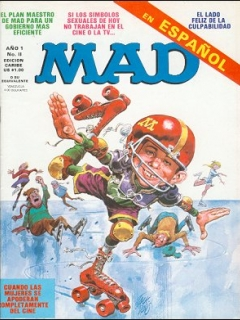 Go to MAD Magazine #11 • Puerto Rico • 1st Edition - Ano 1