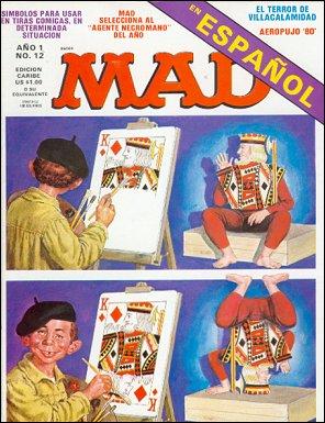 MAD Magazine #12 • Puerto Rico • 1st Edition - Ano 1