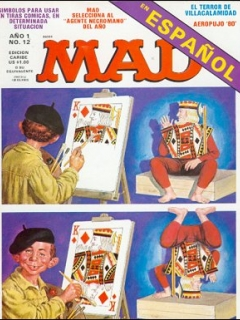 Go to MAD Magazine #12 • Puerto Rico • 1st Edition - Ano 1