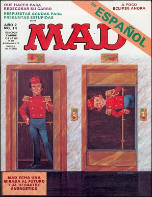 MAD Magazine #14 • Puerto Rico • 2nd Edition - Ano 2