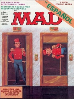 Go to MAD Magazine #14 • Puerto Rico • 2nd Edition - Ano 2