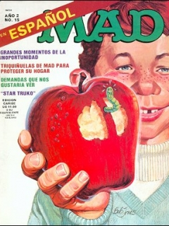 Go to MAD Magazine #15 • Puerto Rico • 2nd Edition - Ano 2