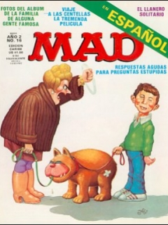 Go to MAD Magazine #16 • Puerto Rico • 2nd Edition - Ano 2