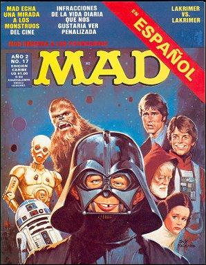 MAD Magazine #17 • Puerto Rico • 2nd Edition - Ano 2