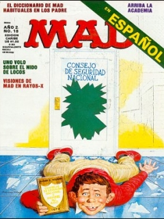 Go to MAD Magazine #18 • Puerto Rico • 2nd Edition - Ano 2