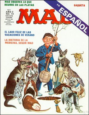 MAD Magazine #19 • Puerto Rico • 2nd Edition - Ano 2