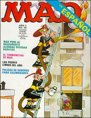 MAD Magazine #20 • Puerto Rico • 2nd Edition - Ano 2