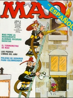 Go to MAD Magazine #20 • Puerto Rico • 2nd Edition - Ano 2