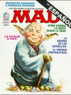 Go to MAD Magazine #21 • Puerto Rico • 2nd Edition - Ano 2