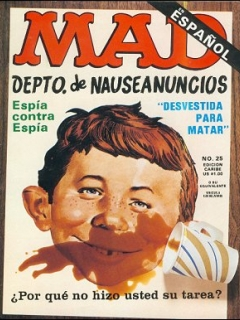 Go to MAD Magazine #25 • Puerto Rico • 2nd Edition - Ano 2