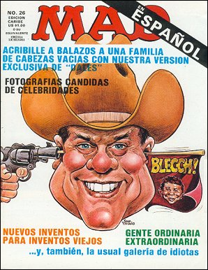 MAD Magazine #26 • Puerto Rico • 2nd Edition - Ano 2