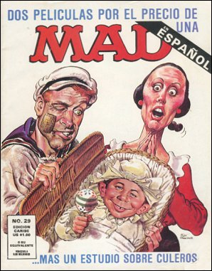 MAD Magazine #29 • Puerto Rico • 2nd Edition - Ano 2