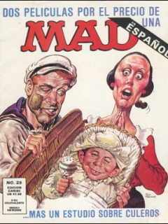 Go to MAD Magazine #29 • Puerto Rico • 2nd Edition - Ano 2