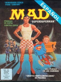 Go to MAD Magazine #30 • Puerto Rico • 2nd Edition - Ano 2