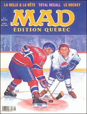 MAD Magazine • Canada • 1st Edition - Quebec