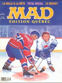 MAD Magazine • Canada • 1st Edition - Quebec