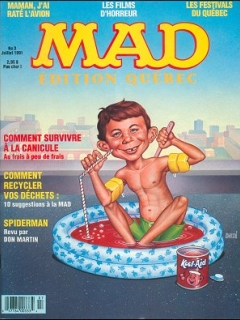 Go to MAD Magazine #3 • Canada