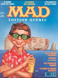 Go to MAD Magazine #4 • Canada