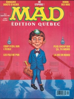 Go to MAD Magazine #5 • Canada