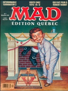 Go to MAD Magazine #7 • Canada