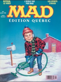 Go to MAD Magazine #8 • Canada