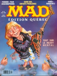 Go to MAD Magazine #10 • Canada