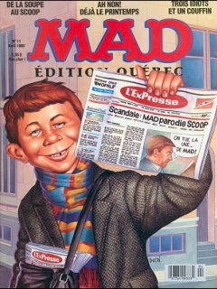 Go to MAD Magazine #11 • Canada