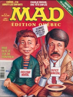 Go to MAD Magazine #12 • Canada