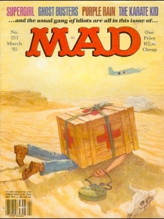 Go to MAD Magazine #253