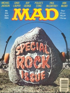 Go to MAD Magazine #254